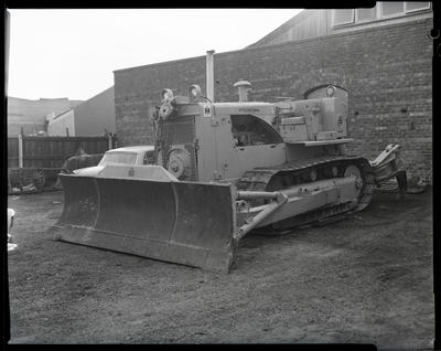 Film negative: International Harvester Company: used construction equipment