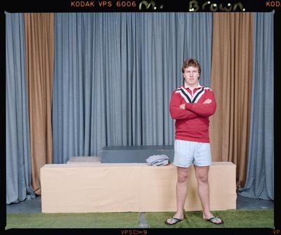 Negative: Mr Brott Canterbury Rugby League Player