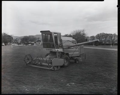 Film negative: Bisley header at showgrounds