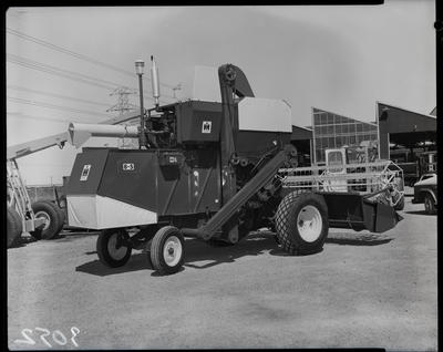 Film negative: International Harvester Company: header, Addington show