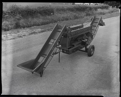 Film negative: Linton Engineering grader