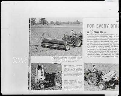 Film negative: International Harvester Company: drill planter
