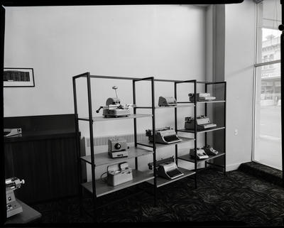 Film negative: Armstrong and Springhall Limited, interior