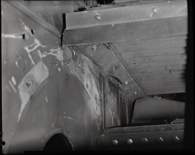 Film negative: International Harvester Company: defect in header