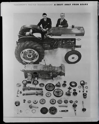 Film negative: International Harvester Company: turbo tractor parts