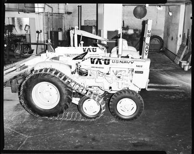 Film negative: International Harvester Company: Deep Freeze tractors, Tuam Street