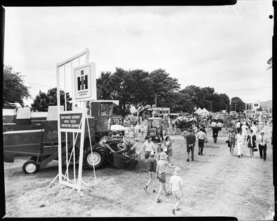 Film negative: Header row, Agriculture show