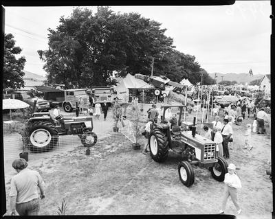 Film negative: International Harvester Company: trucks and tractors