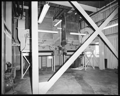 Film negative: Flemings Flour Mill, two flour mills