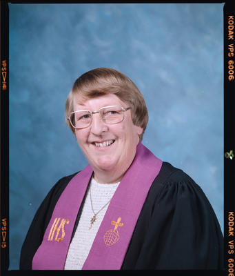 Negative: Mrs Guthardt Methodist Minister