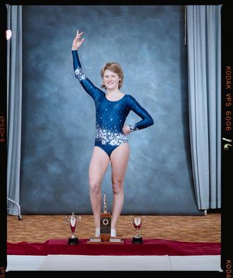 Negative: Canterbury Junior Gymnastics Team Member 1985