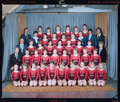 Negative: Canterbury Junior Gymnastics Team 1985