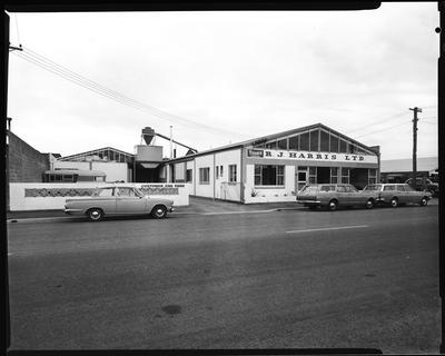 Film negative: R J Harris Limited, building
