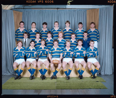 Negative: Lincoln College Rugby Team 1985