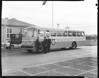 Film negative: International Harvester Company: Deep Freeze bus