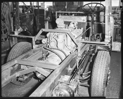 Film negative: Clyde Engineering Limited, truck chassis