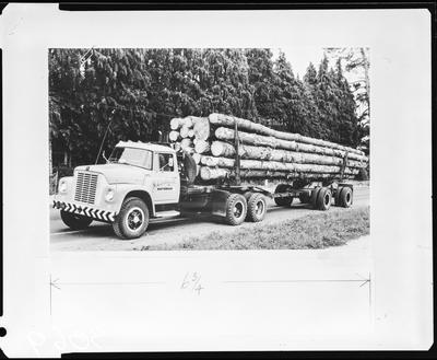 Film negative: International Harvester Company: F1800 truck