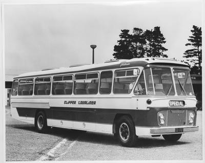 Film negative: International Harvester Company: bus