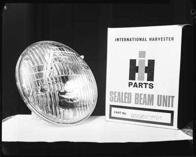 Film negative: International Harvester Company: parts, sealed beam units