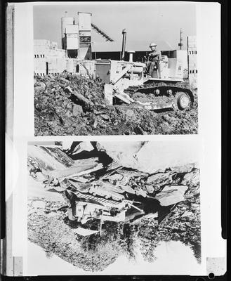 Film negative: International Harvester Company: bulldozer