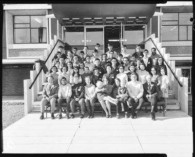Film negative: Lincoln College, Malay Conference group