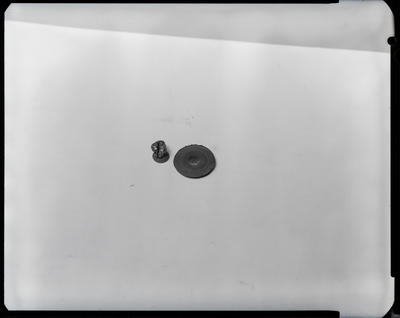 Film negative: International Harvester Company: damaged turbo parts