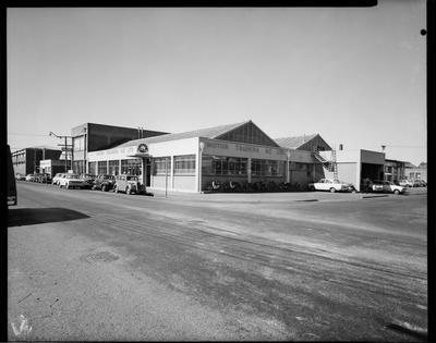 Film negative: Motor Trader building