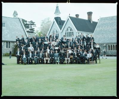 Negative: Christ's College Condell's House 1985