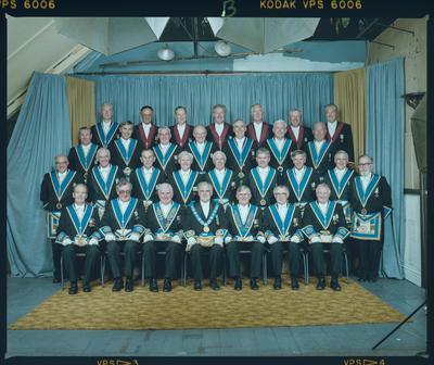 Negative: Provincial Masonic Lodge Group