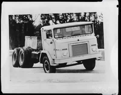 Film negative: International Harvester Company: international truck, 6-wheeler chassis