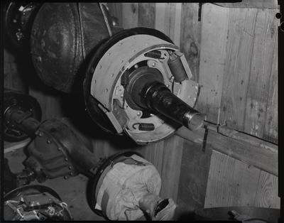 Film negative: International Harvester Company: brake shoes