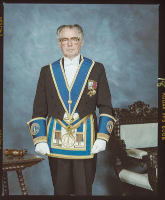Negative: Emrys Tyler, Provincial Masonic Lodge