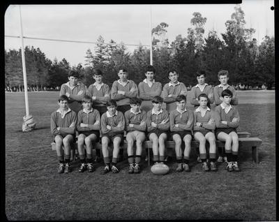 Film negative: Burnham Rugby Club, Junior Teams, 1969
