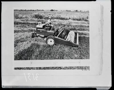 Film negative: International Harvester Company: 275 Windrower