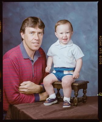 Negative: Mr Donaldson and Child