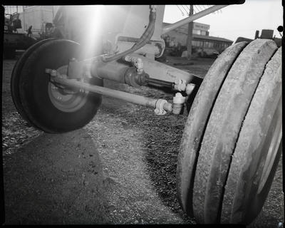 Film negative: A M Bisley and Company, rusted header