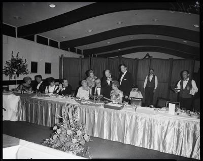 Film negative: International Harvester Company: Mr Mathieson's retirement dinner