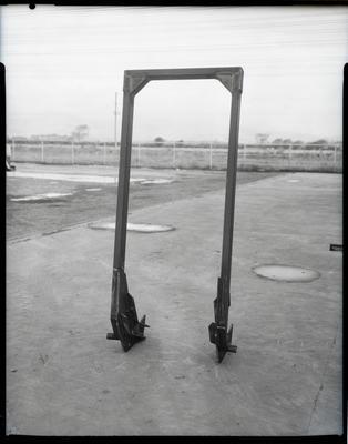 Film negative: International Harvester Company: tractor safety frame