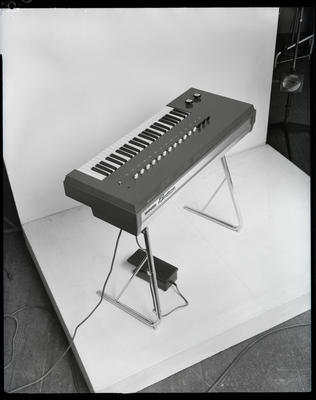 Film negative: Sedley Wells Limited, electric organ