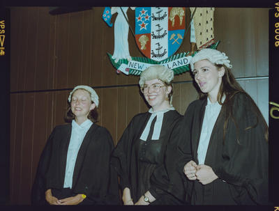 Negative: Three Women Admitted To The Bar