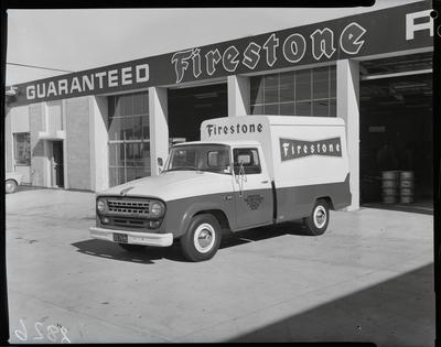 Film negative: International Harvester Company: Firestone c1100 truck