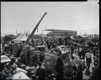 Film negative: International Harvester Company: A and P Show stand