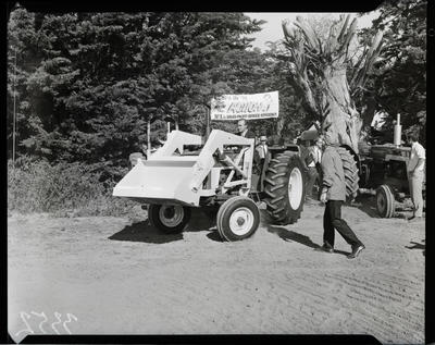 Film negative: International Harvester Company: tractor demonstration