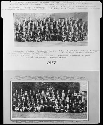 Film negative: Canterbury University College House
