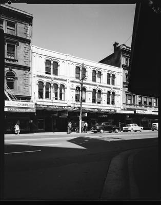 Film negative: Premier Cooking School, street frontage