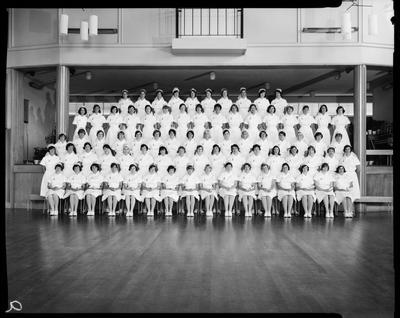 Film negative: Dental Nurses Graduation, 1966