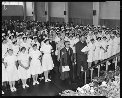 Film negative: Dental Nurses Graduation, 1966