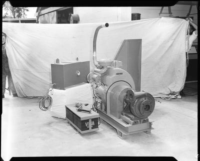 Film negative: B R Homersham Limited, pumping unit