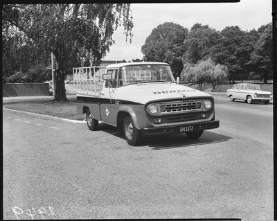 Film negative: International Harvester Company: c1100 truck in Dunlop colours