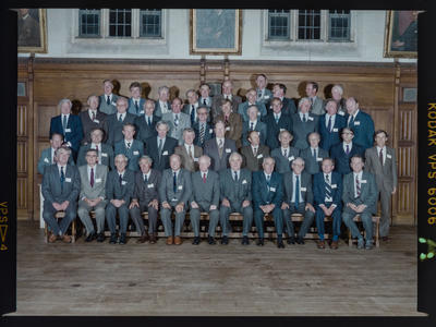 Negative: Christ's College Reunion Year of 1945